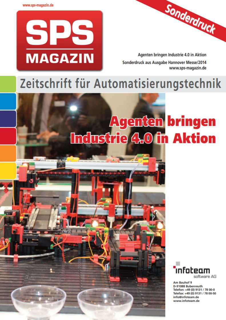 Agenten bringen Industrie 4.0 in Aktion