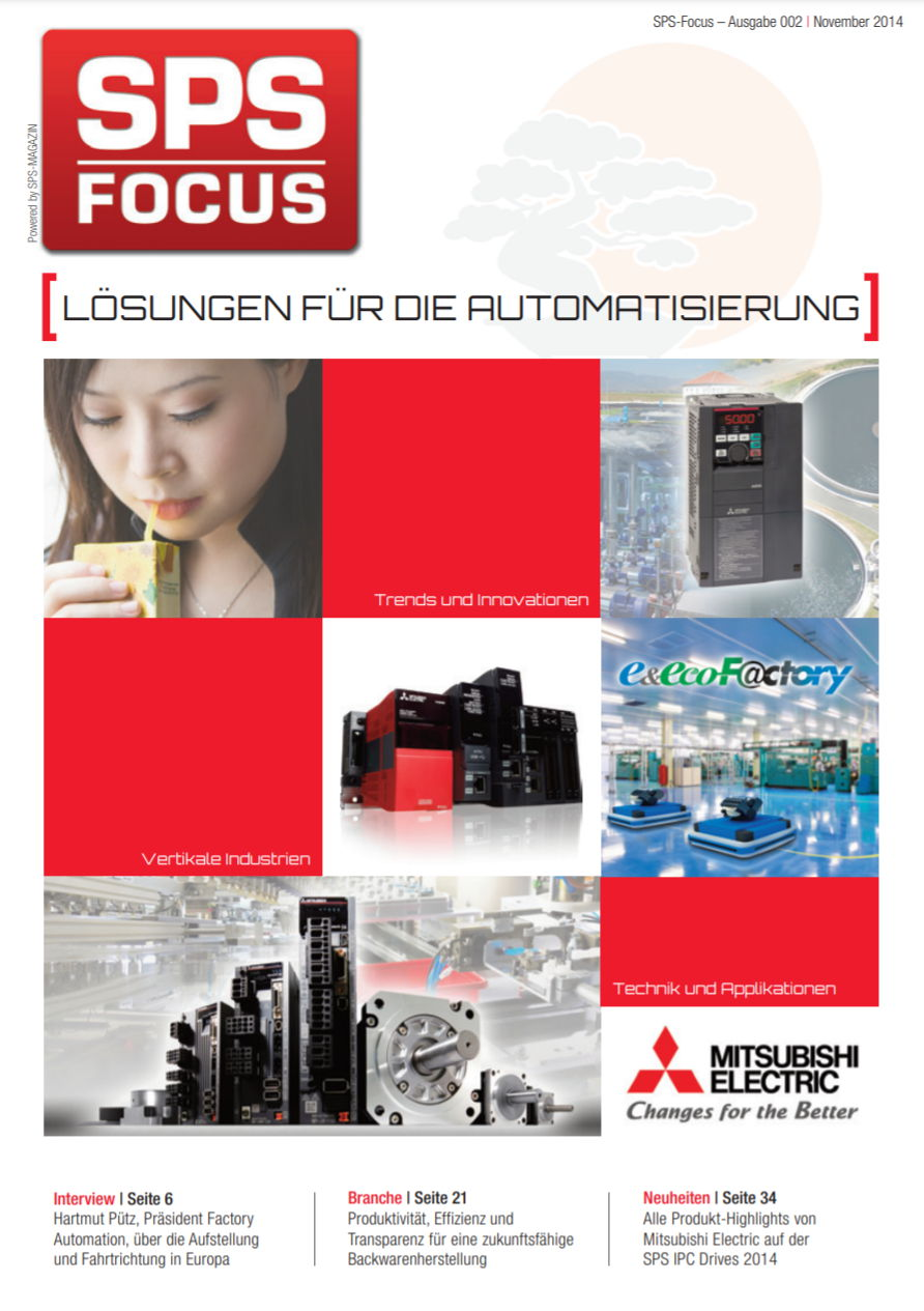 Automation im Focus Mitsubishi Electric