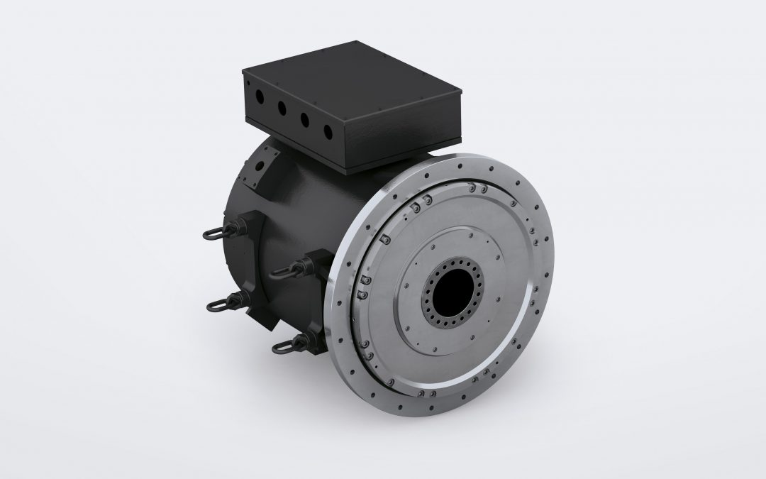 WassergekühlteTorquemotoren