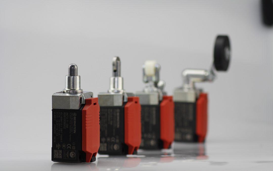 Positionsschalter aus Metall und Kunststoff