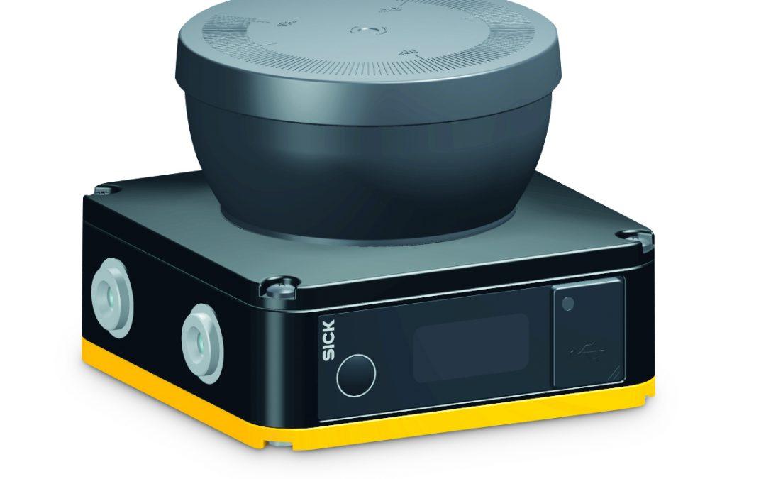 kompakter Sicherheits-Laserscanner