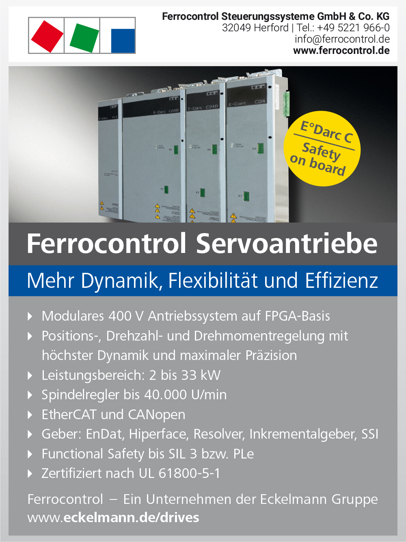 Produktübersicht – Ferrocontrol Steuerungssysteme GmbH & Co. KG