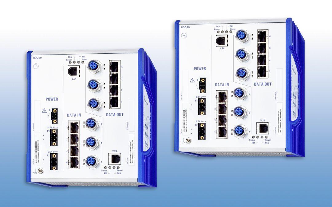 Unidirektionale Komponente für Ethernet-Netze