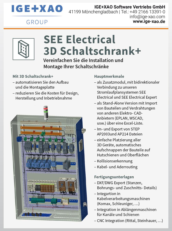 Produktübersicht – IGE+XAO Software Vertriebs GmbH