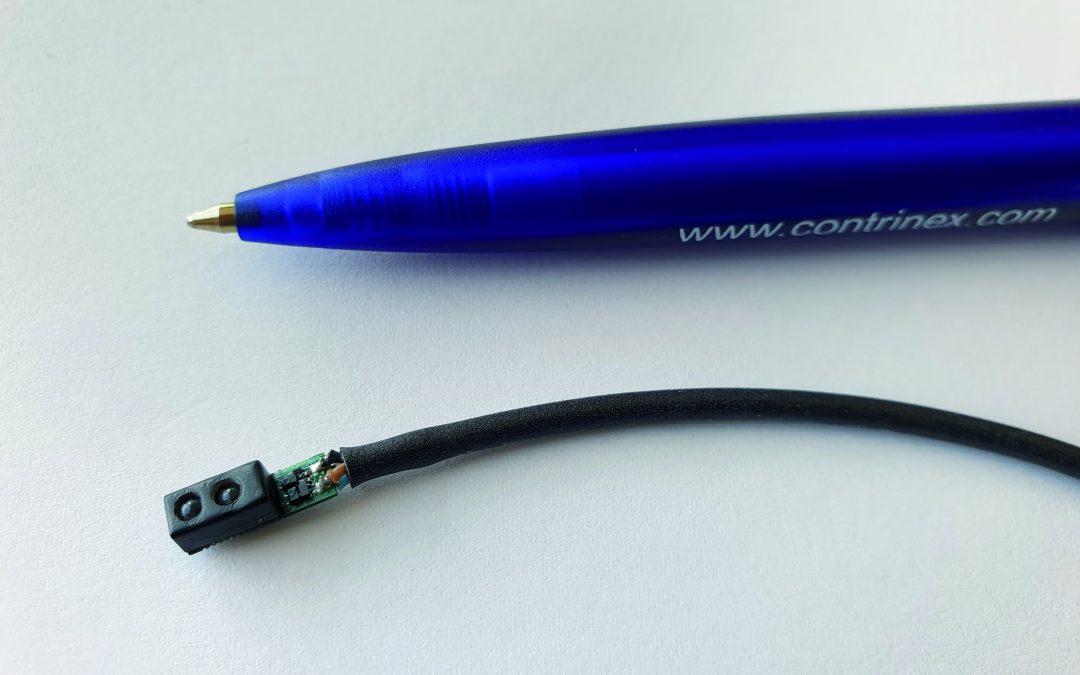 Fotoelektrischer Sensor zur Abstandsmessung