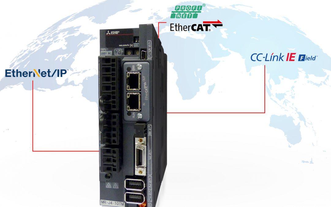 Servos mit offenen Netzwerkanbindungen