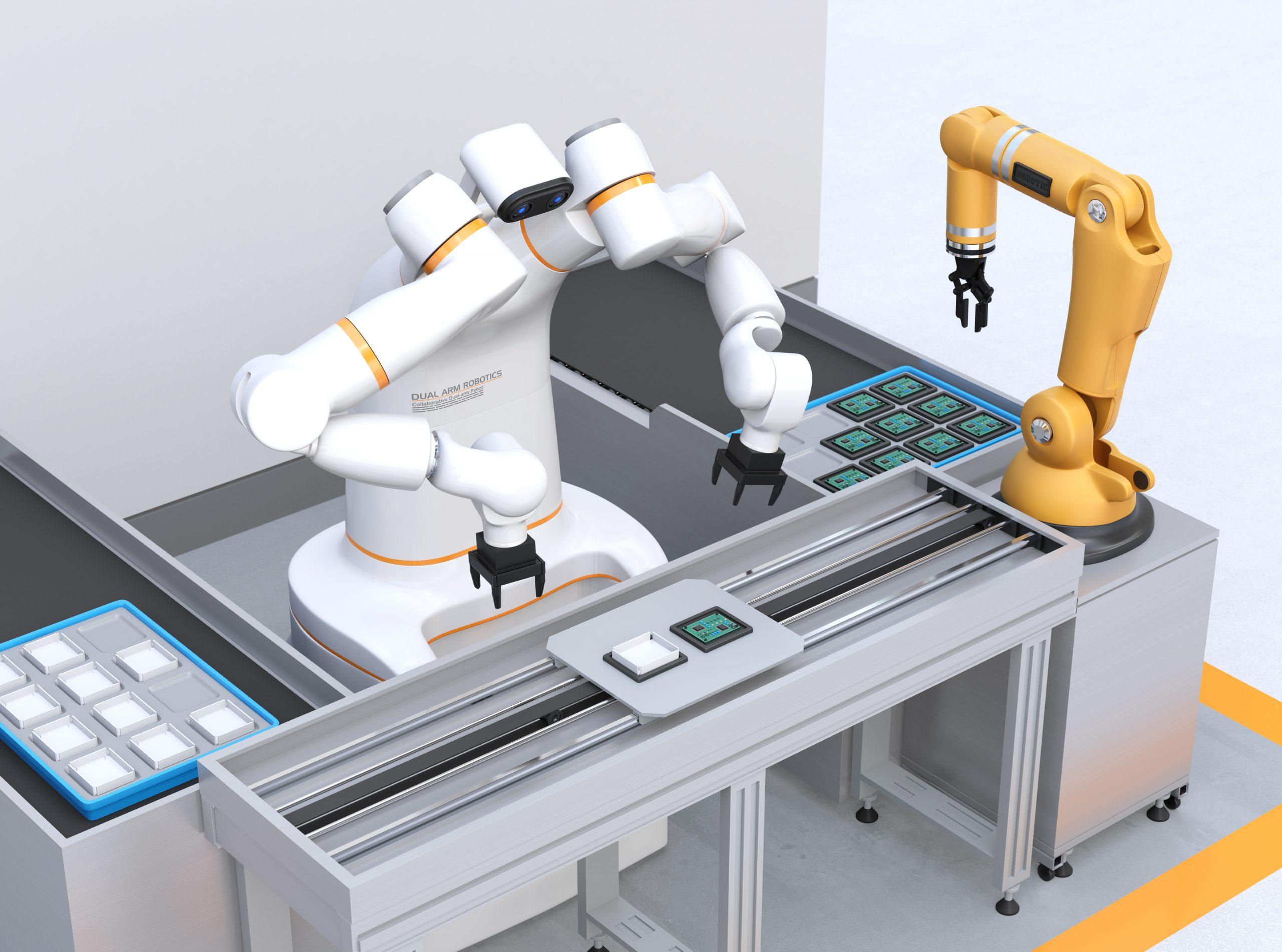 TechTalks: Smart und sicher – Zusammenarbeit von Mensch und Roboter