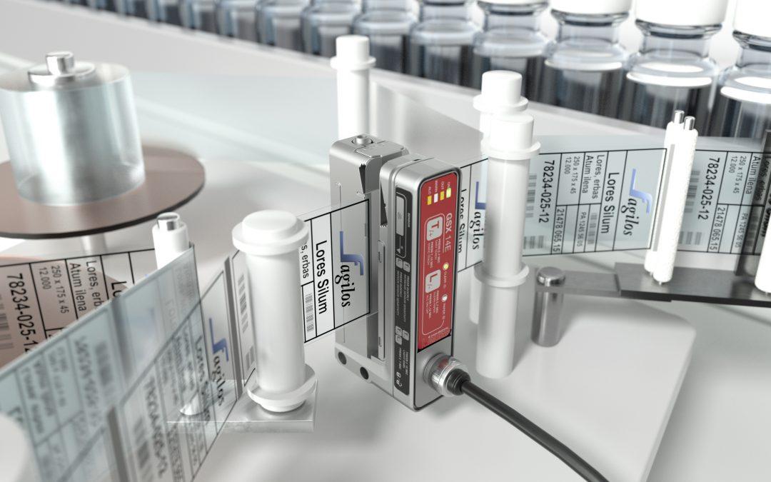 Gabelsensor mit Licht und Ultraschall