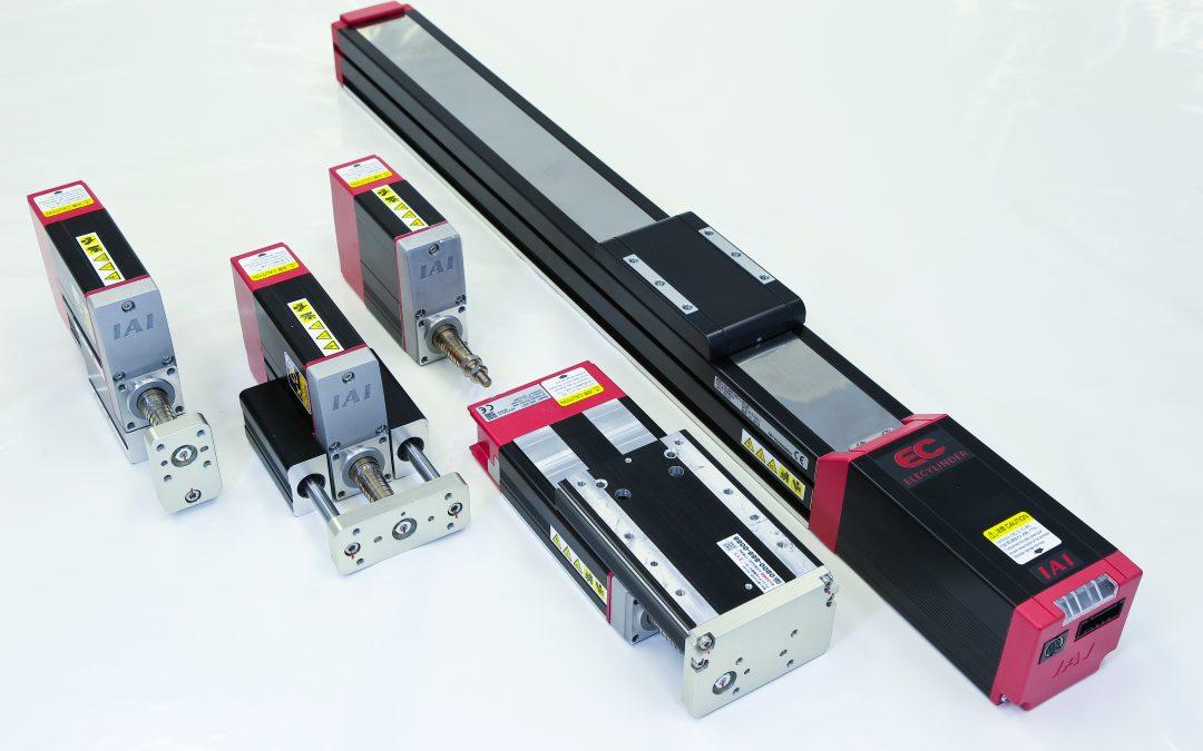 Elektrische Aktuatoren mit integrierter Steuerung