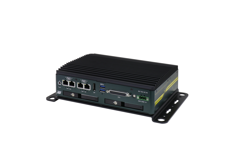 Edge-IPC mit vier PoE+-Ports