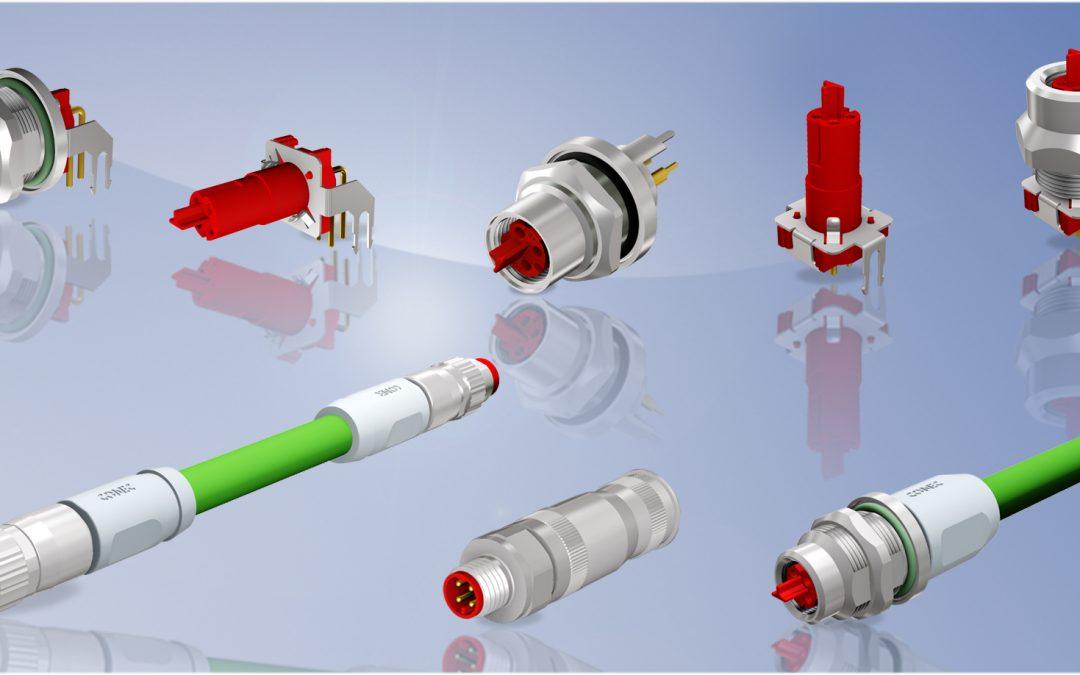 P-codiertes Steckverbindersystem