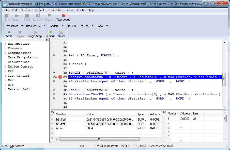 Entwicklungstool zum einfachen Programmieren von Modulen