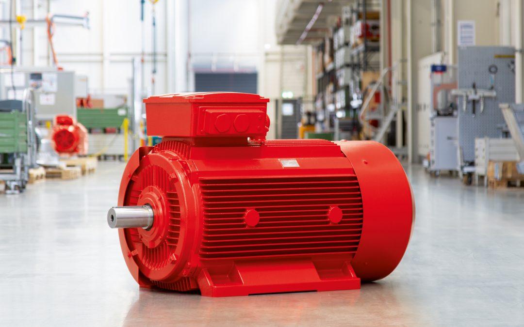 Erweiterte IE3-Motorenbaureihe