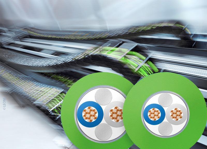 SPE-Kabel für Schleppketten- und Torsionsanwendungen