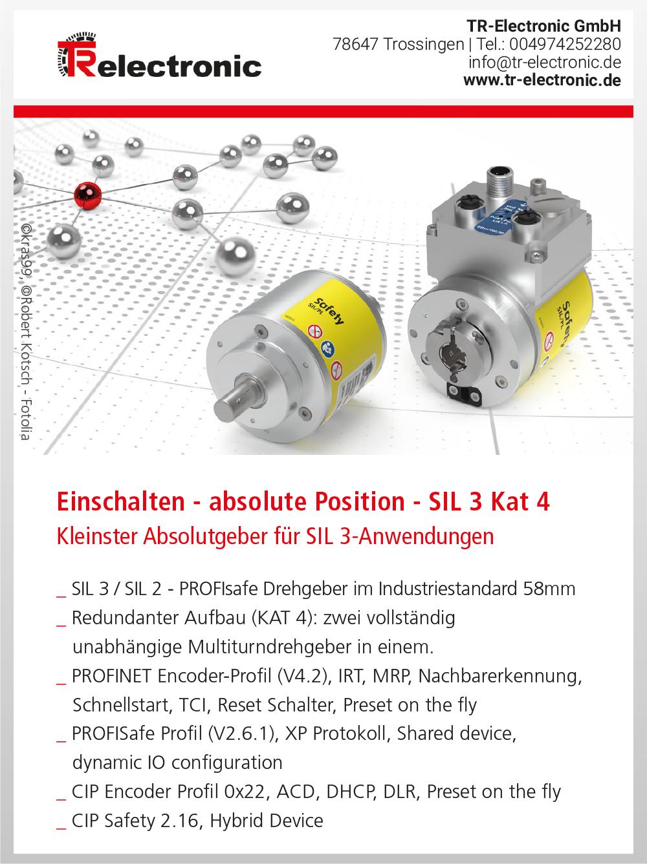 Produktübersicht – TR-Electronic GmbH