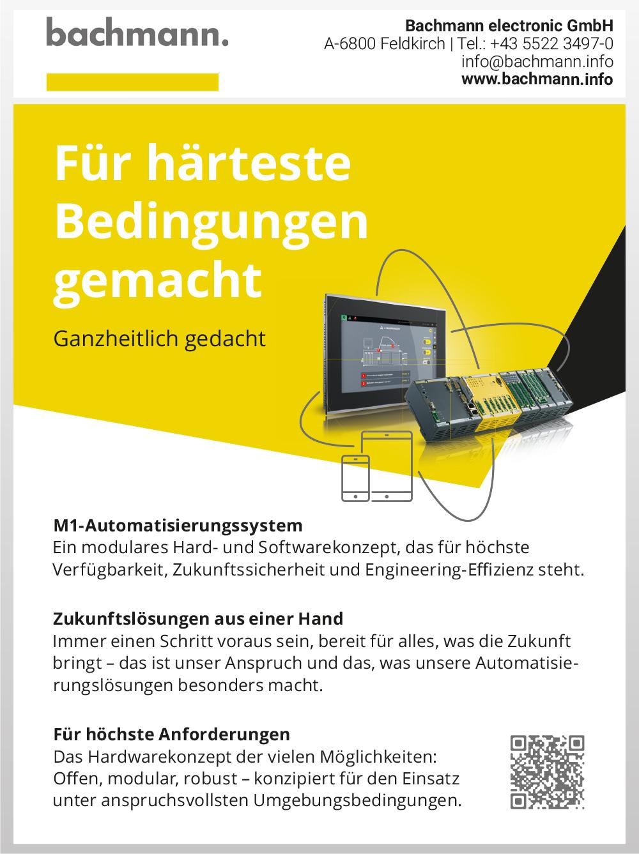 Produktübersicht – Bachmann electronic GmbH