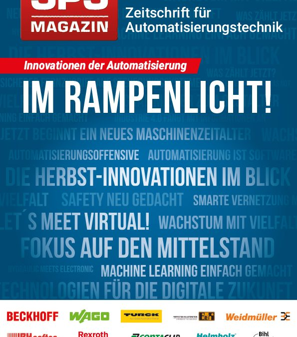 SPS-MAGAZIN zeigt Herbst-Innovationen 2020
