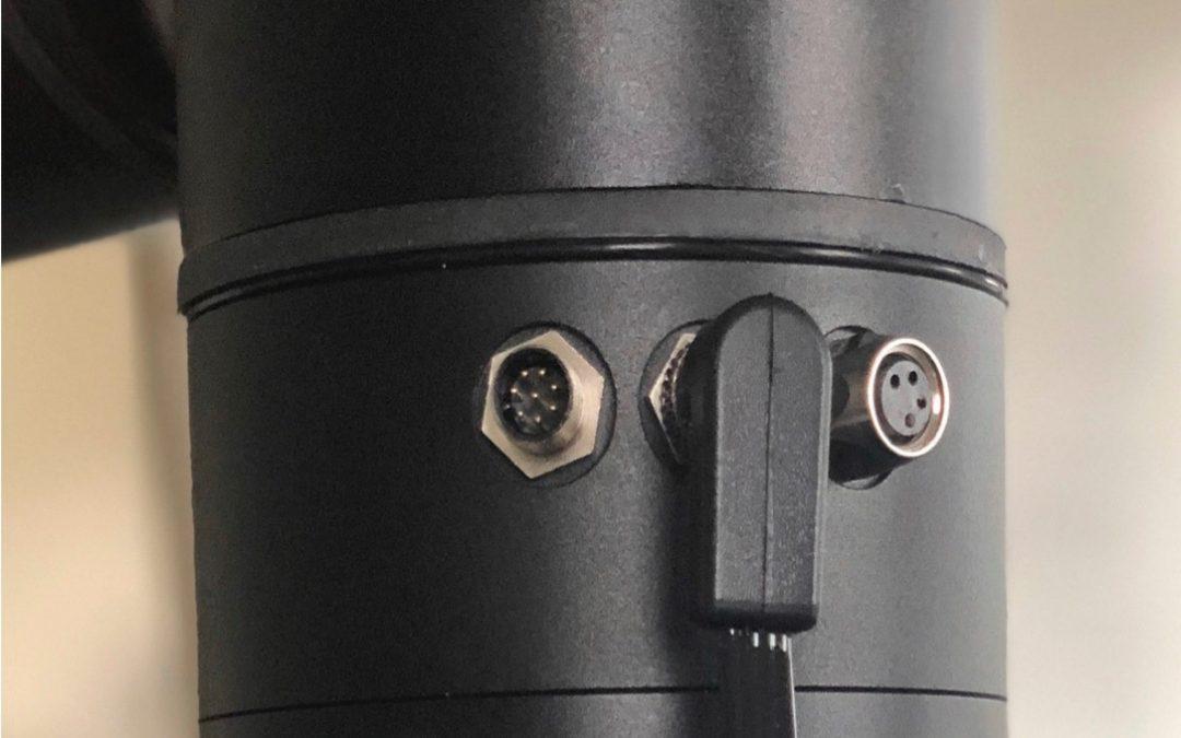 Cobots mit End-of-Arm-Tool-I/O und Freilauftaste