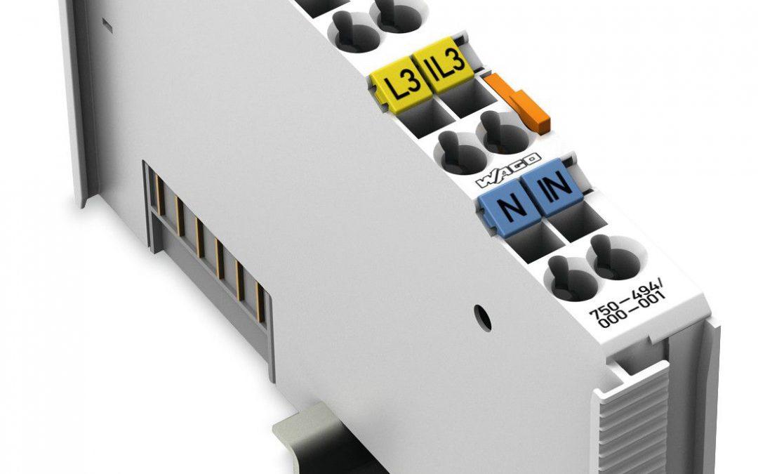 I/O-Modul zur 3-Phasen-Leistungsmessung