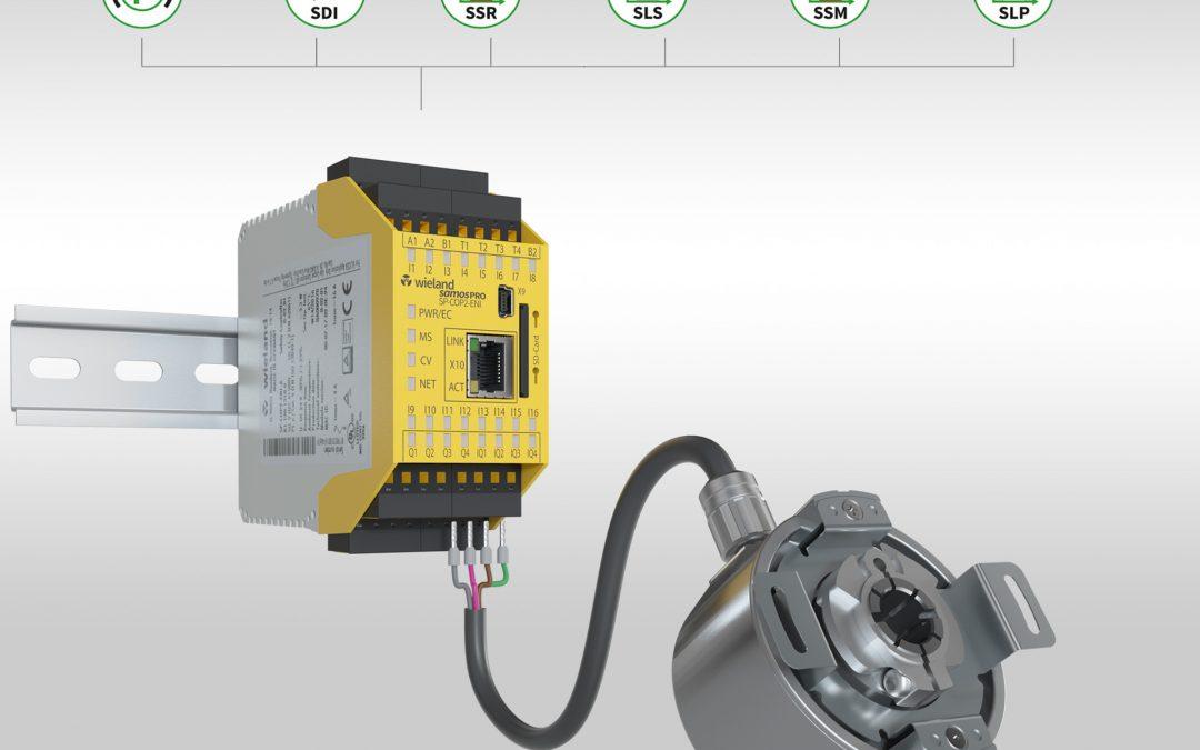 Kompakte Sicherheitssteuerung mit Motion-Funktionen
