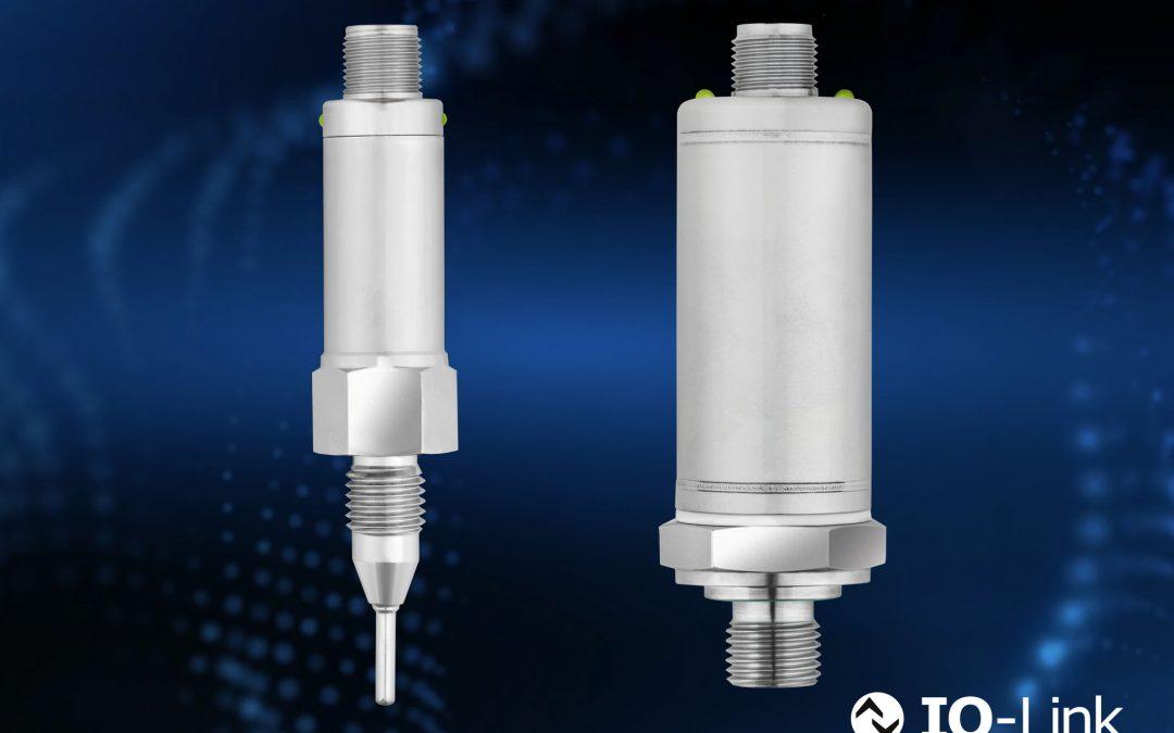 Druck-/Temperatursensoren mit IO-Link