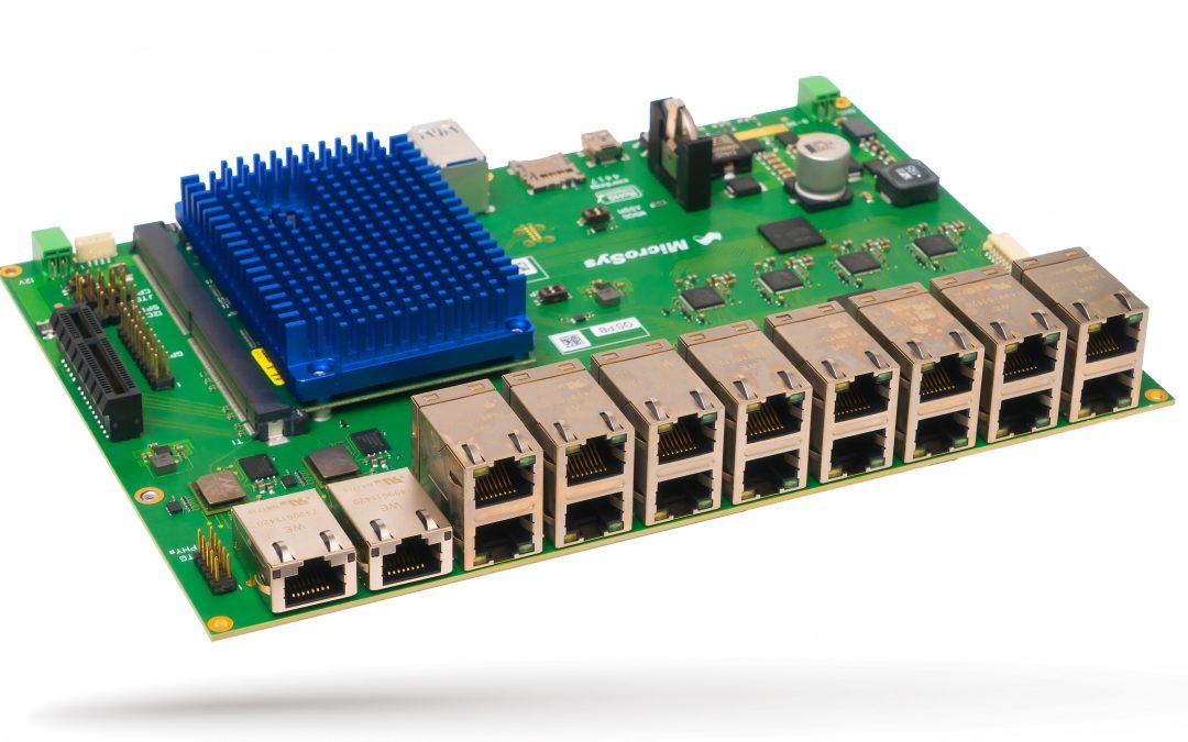 Embedded Systeme mit TSN und Highspeed Ethernet Interfaces