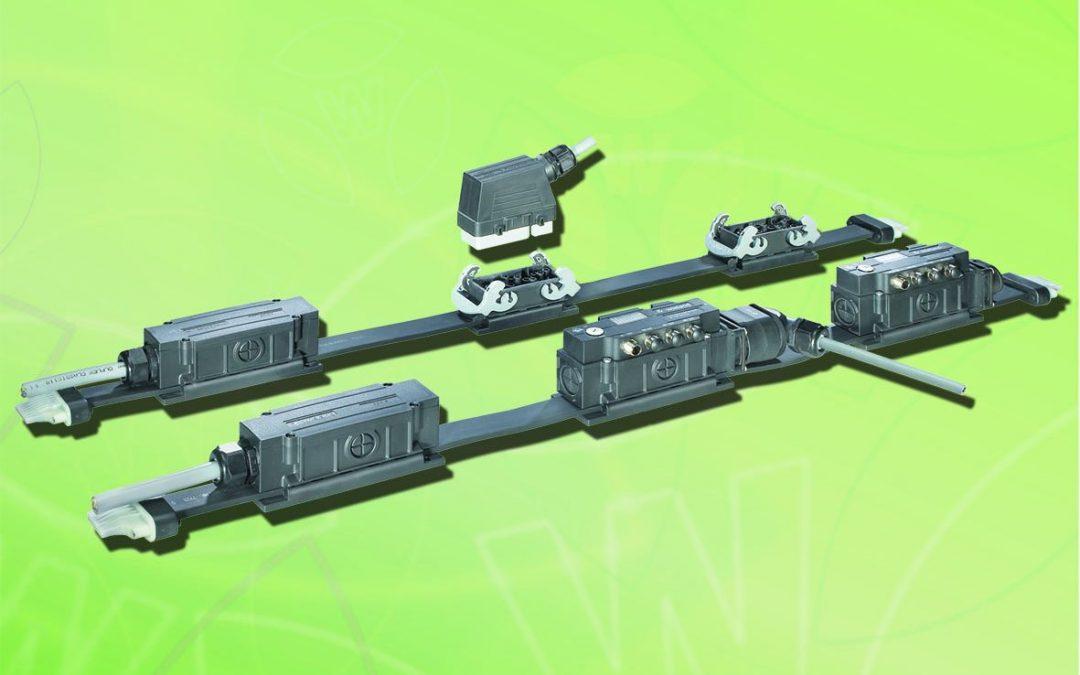 Flexible Stromschiene für die Industrie