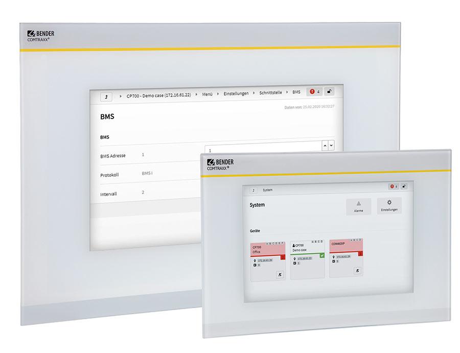 HMI-Serien für Condition-Monitoring
