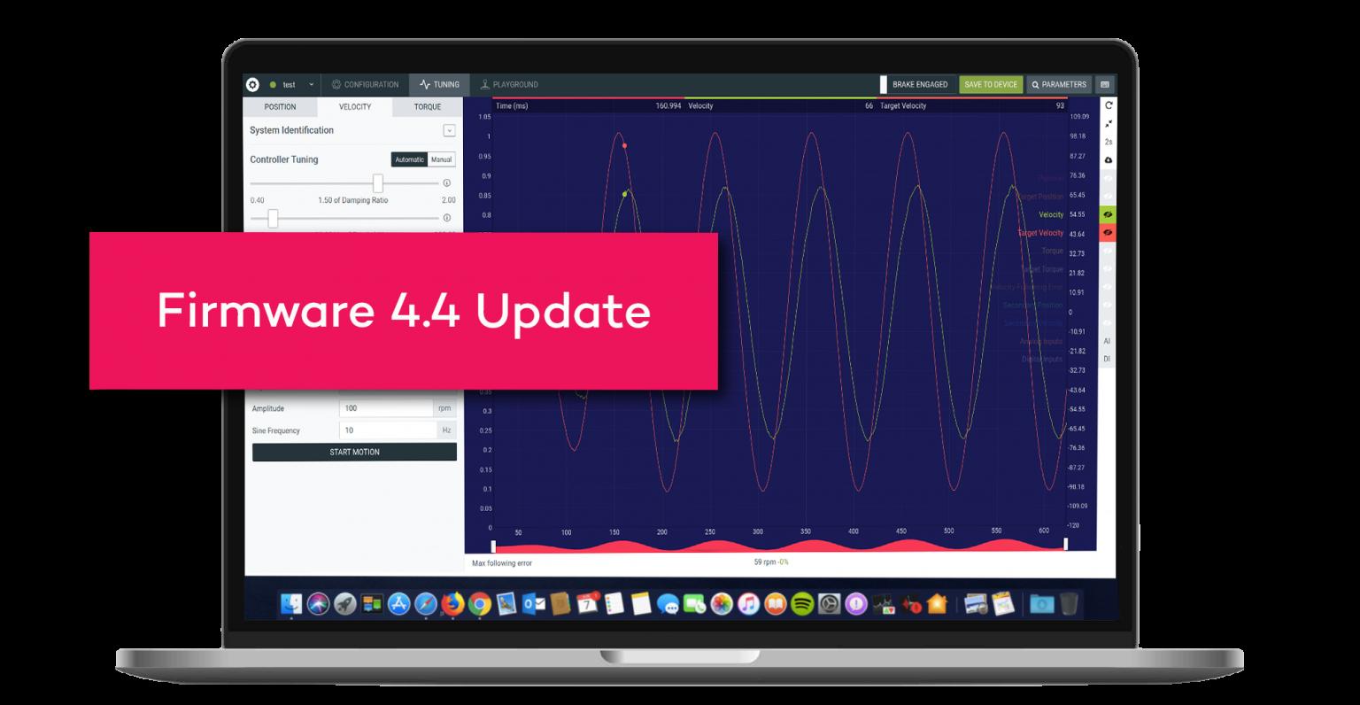 Firmware-Update für Motion-Module