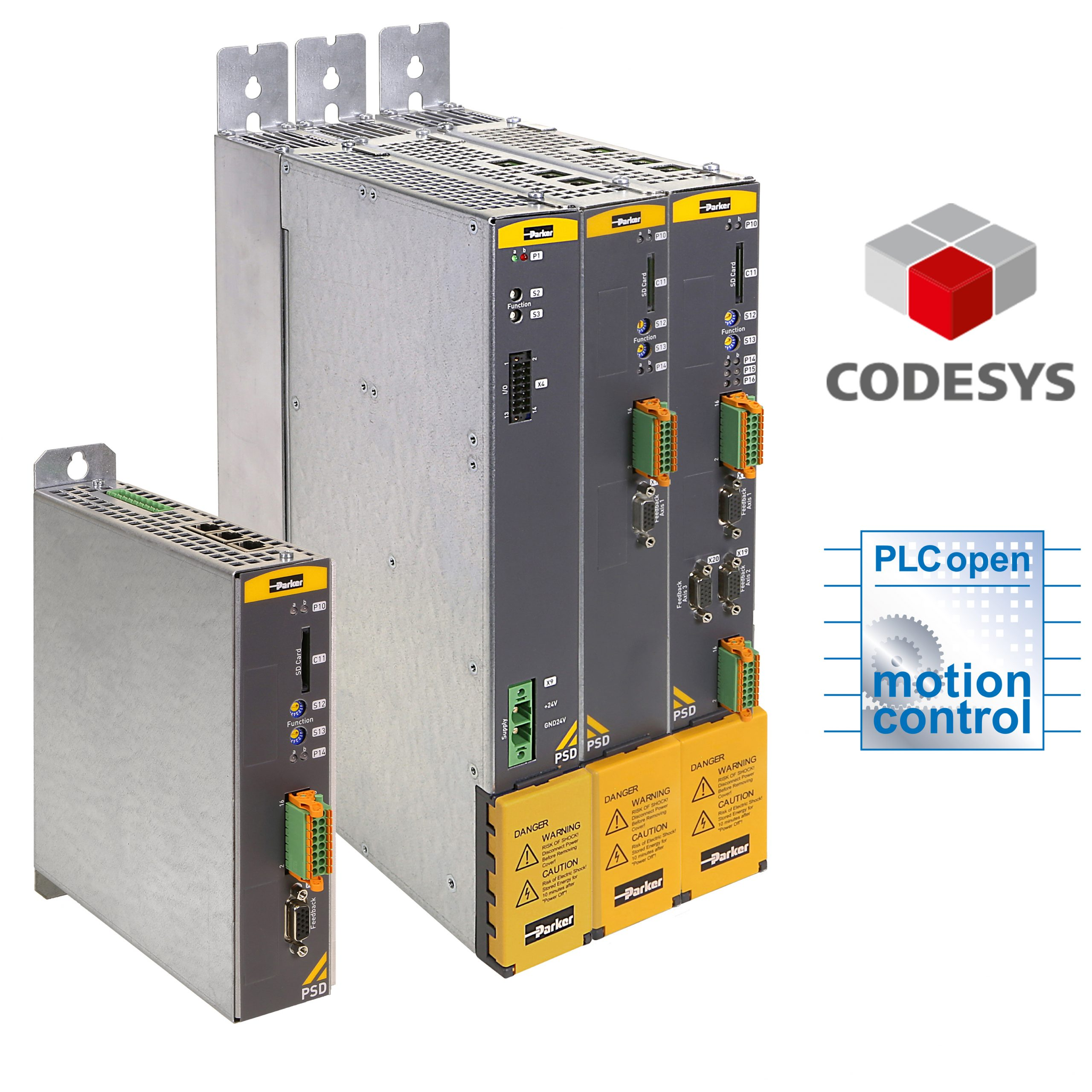 Programmierbarer Antrieb nach IEC61131-3