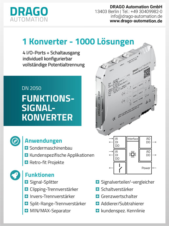 Produktübersicht – DRAGO Automation GmbH