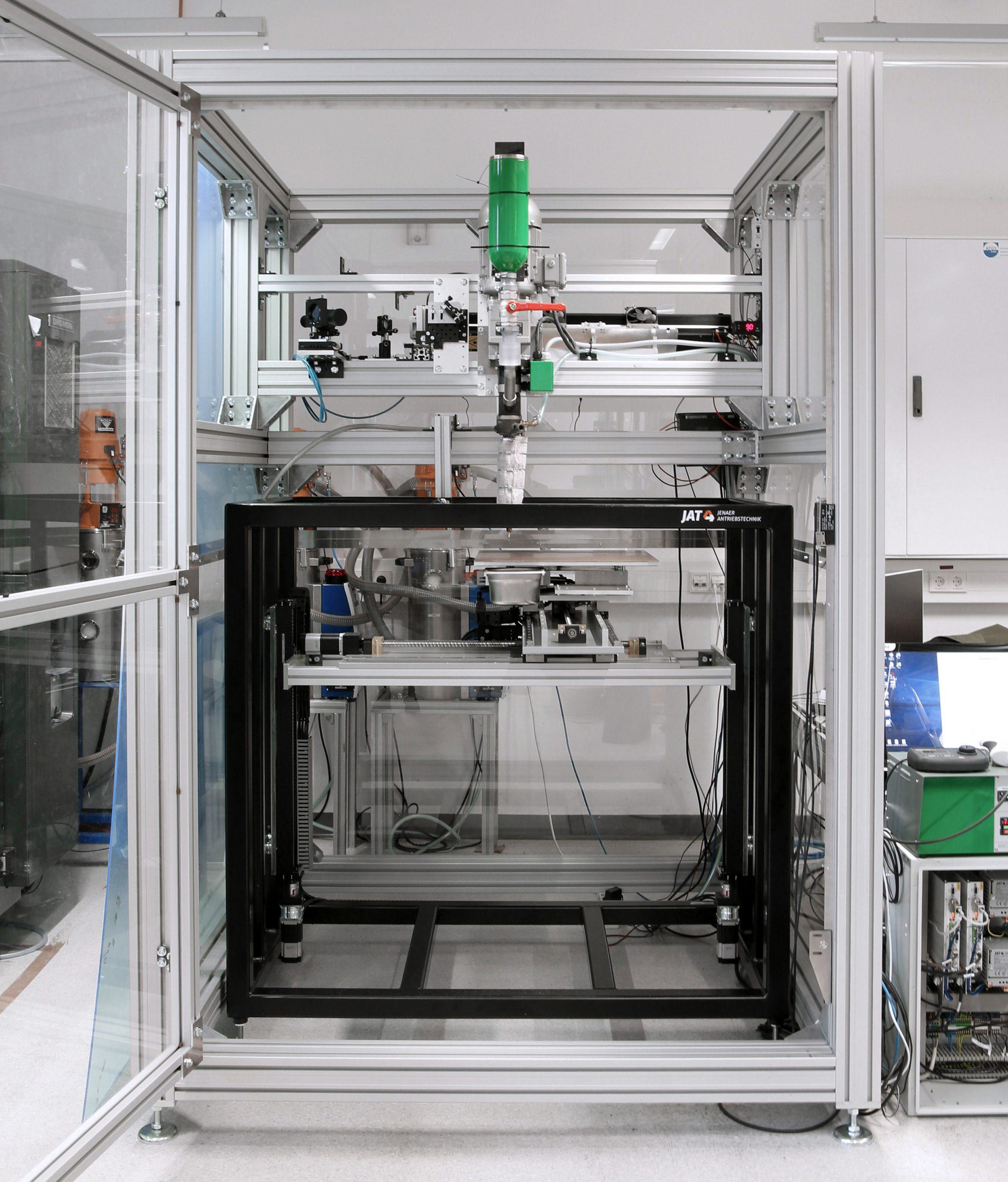 Antriebssystem für großvolumigen 3D-Druck