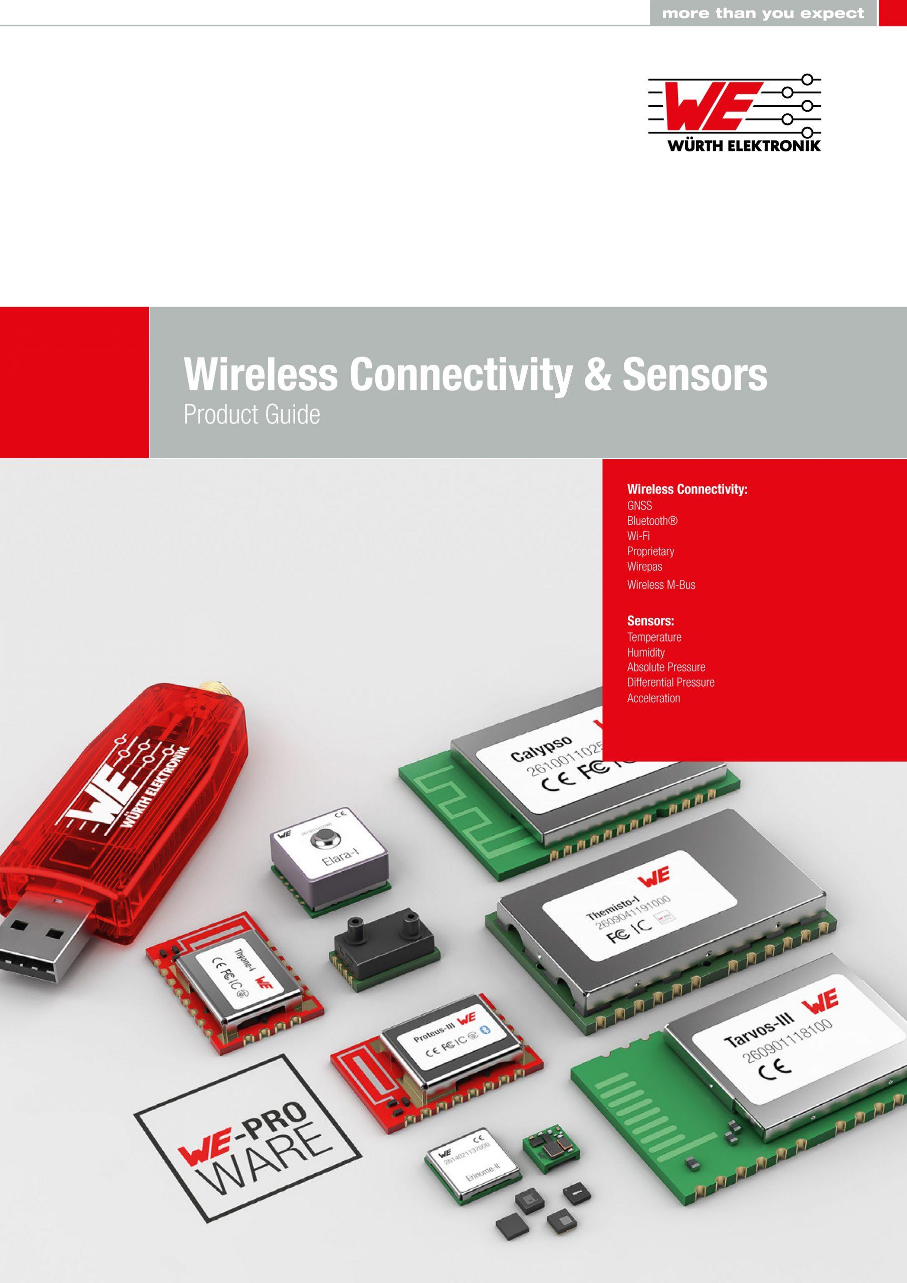 Katalog: Funk- und Sensormodule für IoT- und Industrie