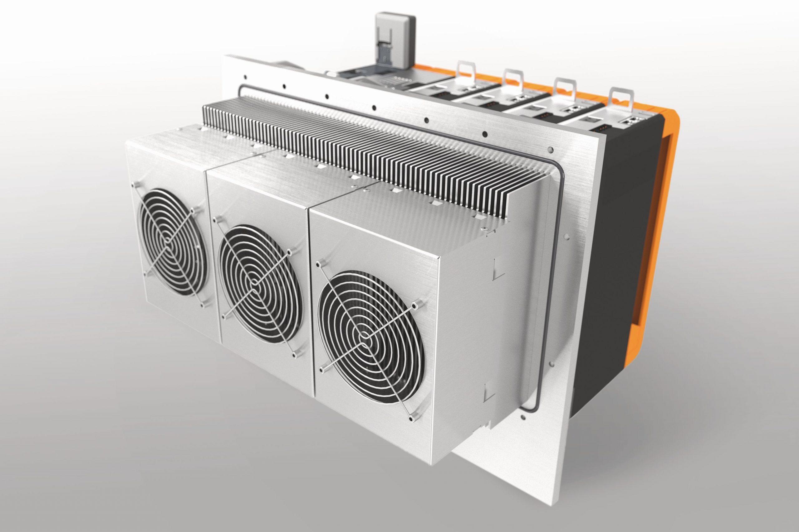 Modulares Kühlkonzept für Umrichterfamilie