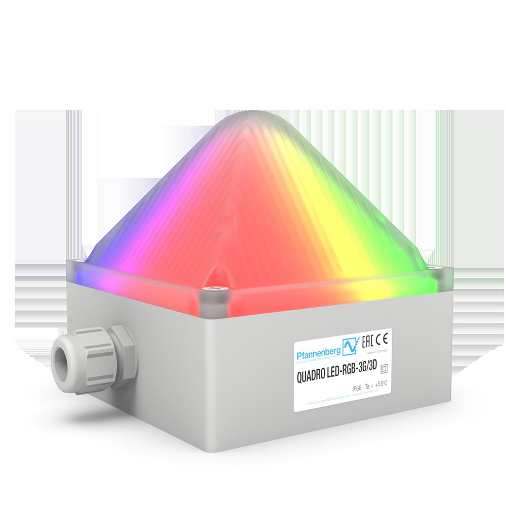 Signalsäule für den Ex-Bereich mit neuer mehrfarbiger LED-Leuchte