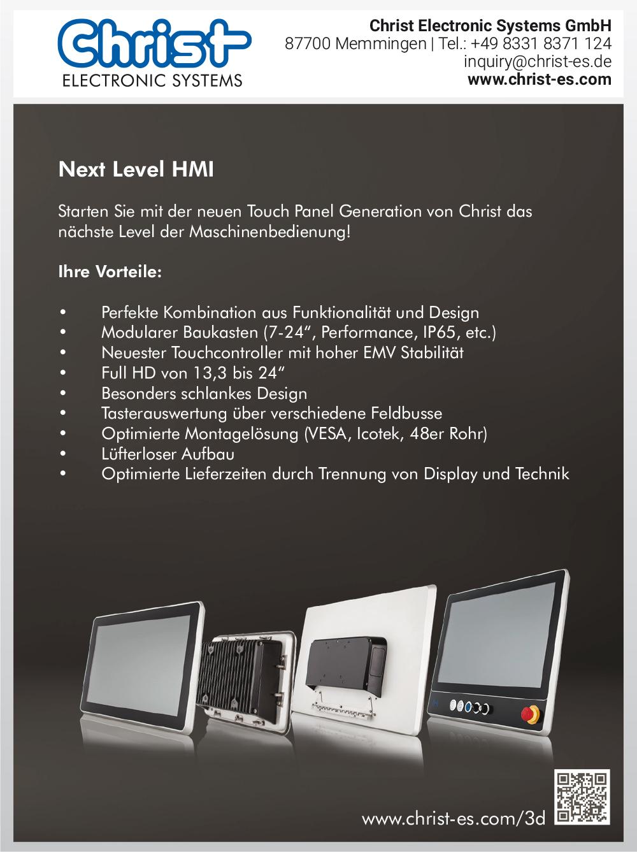 Produktübersicht – Christ Electronic Systems GmbH