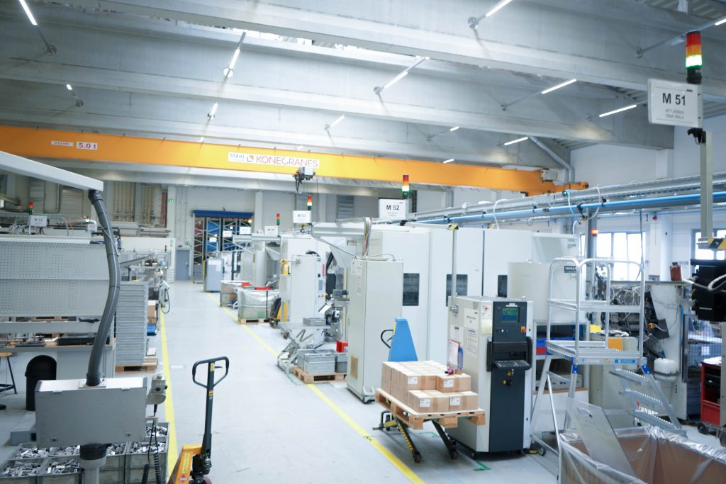Aktuell sind bei Eberle Rieden 60 Maschinen mit Smartmonitor ausgestattet. Dies entspricht mehr als 95 Prozent des gesamten Maschinenparks.