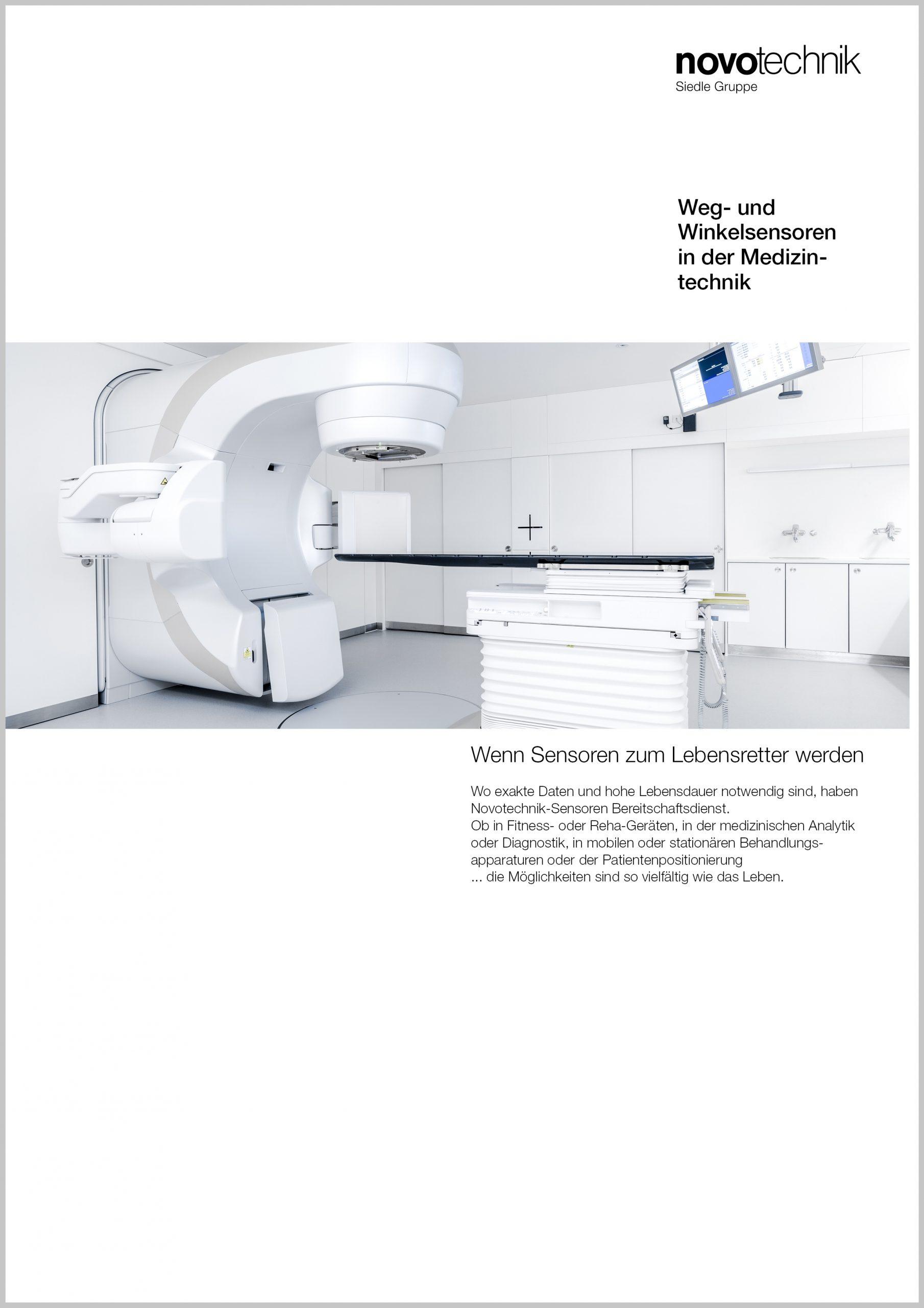 Weg- und Winkelmessung in der Medizintechnik
