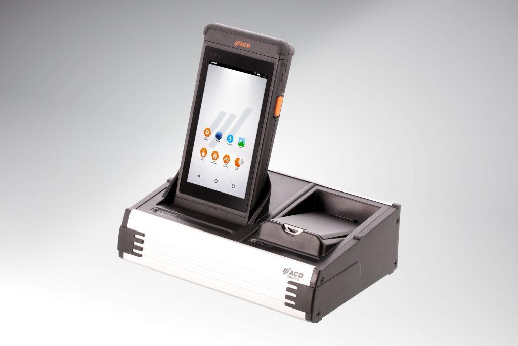 Die mobilen ACD-Geräte gibt es auch mit dem Betriebssystem Android Industrial+. Eine sehr sichere und von Google-Diensten unabhängig-agierende Version.