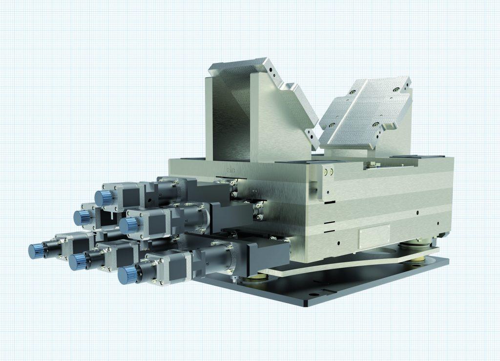 Der kompakte 6-Achs-Aligner Easy A3 setzt Maßstäbe in puncto Tragfähigkeit, Präzision, Modularität und Wirtschaftlichkeit.