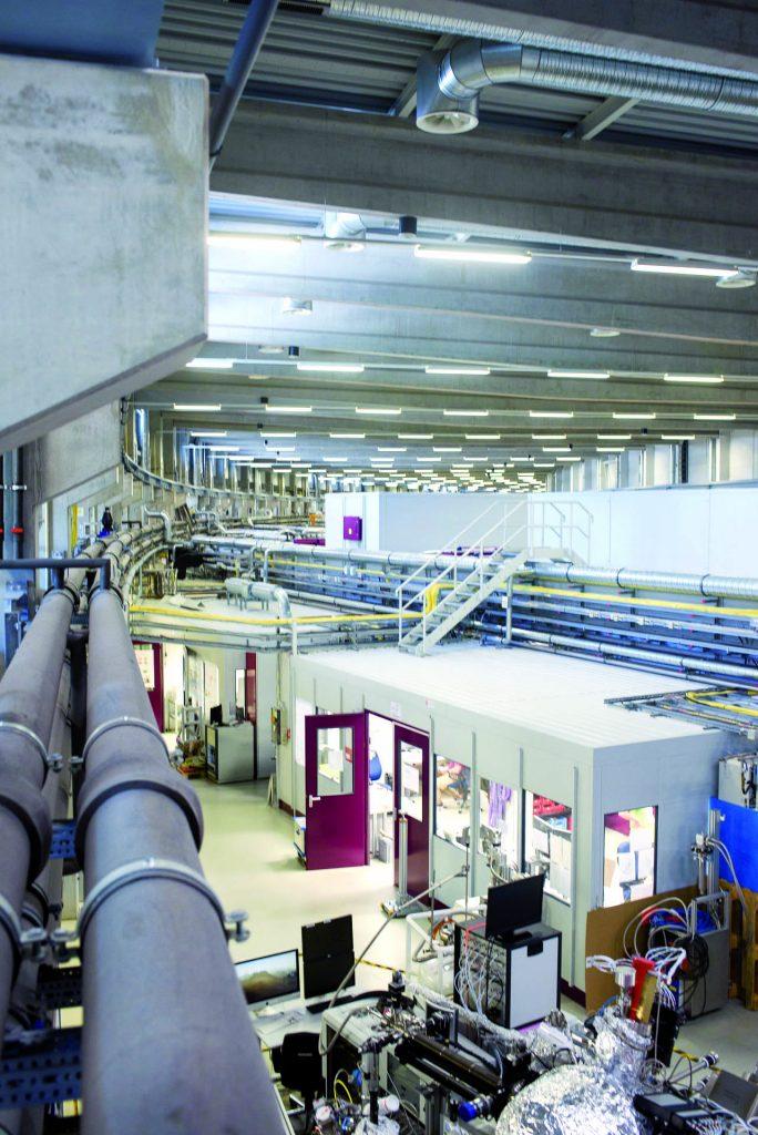 Das Deutsche Elektronen Synchrotron (DESY) zählt zu den weltweit führenden Beschleunigerzentren