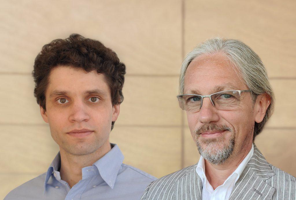 Pierre Gronlier (links) und Francesco Bonfiglio