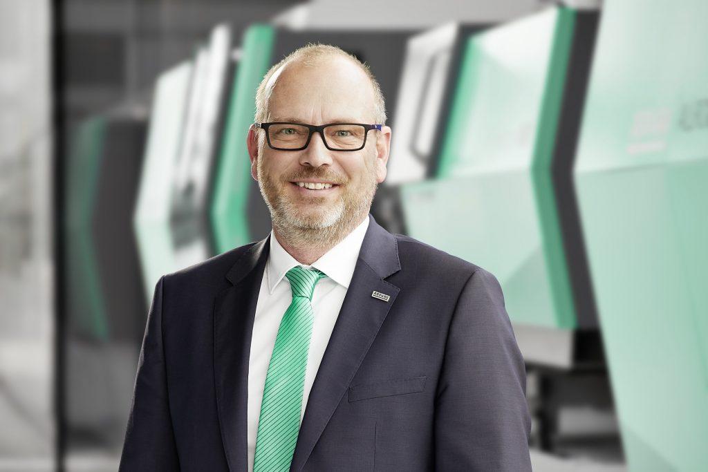 Guido Frohnhaus, Geschäftsführer Technik bei Arburg.
