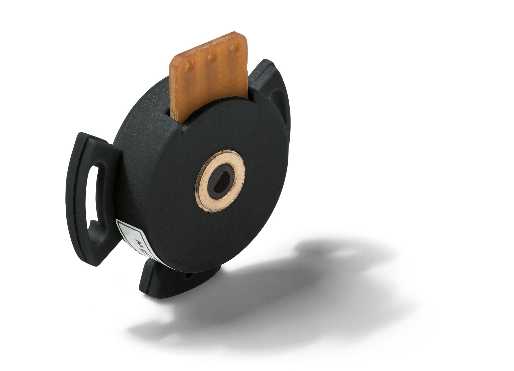 Hohlwellenpotentiometer für kompakte Winkelmessung