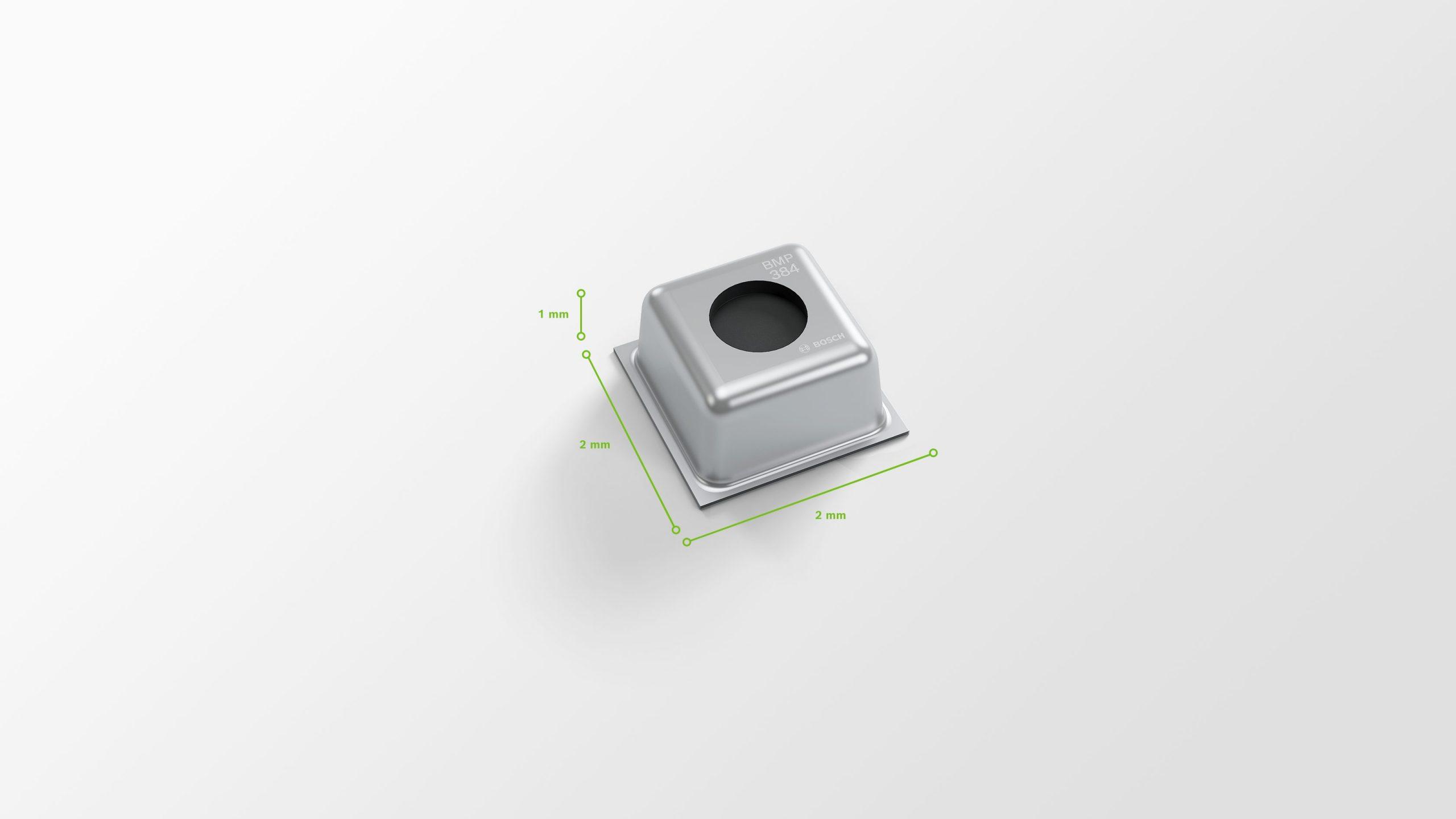 Robuster barometrischer Drucksensor für raue Umgebungsbedingungen