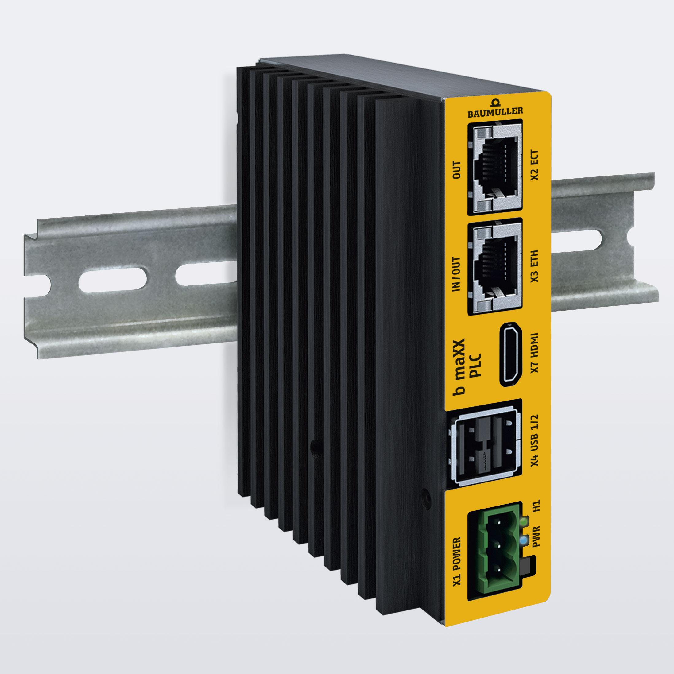 Neue Baumüller-Steuerung kombiniert SPS und IPC