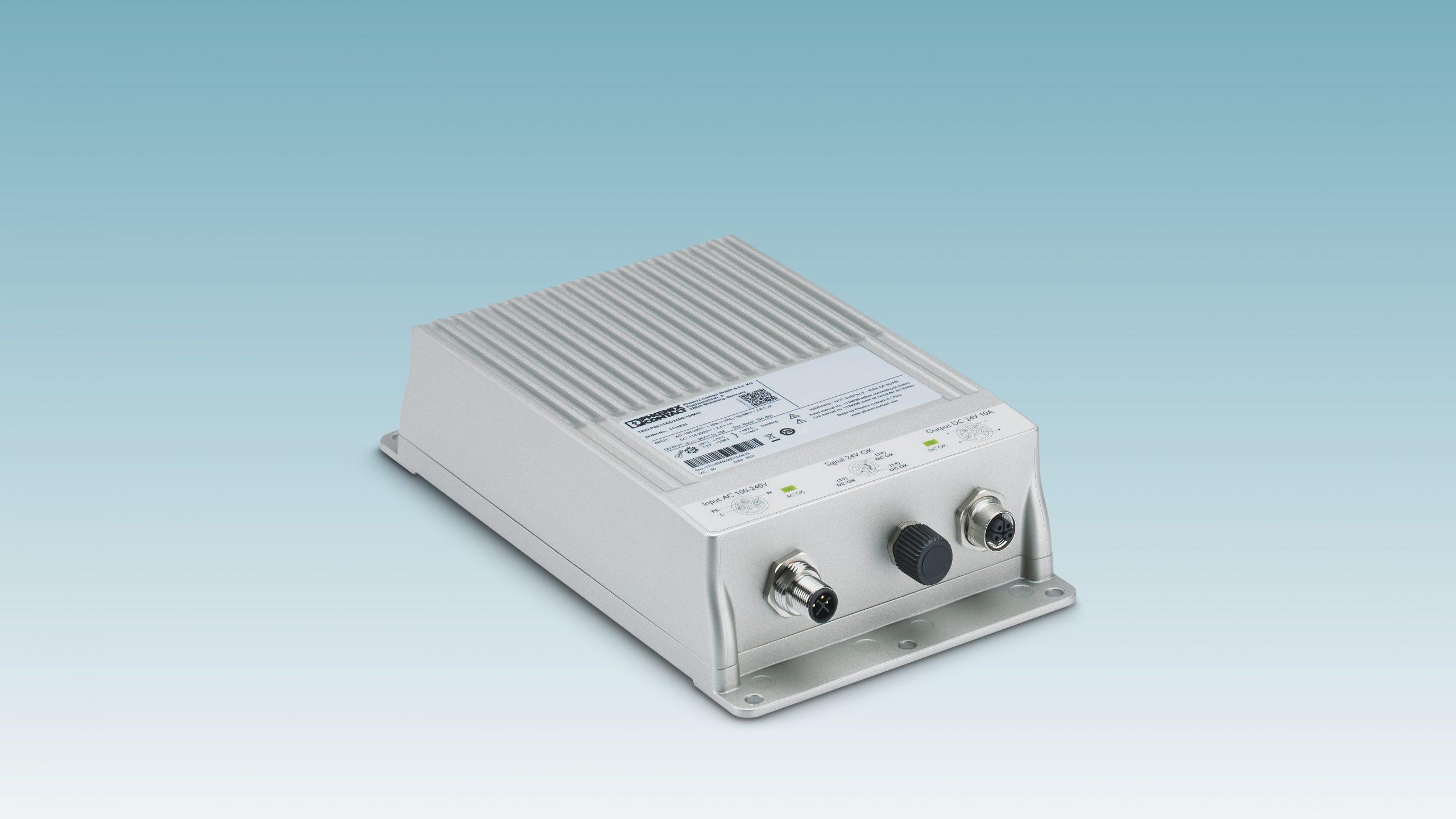 Stromversorgung mit IP67-Schutz