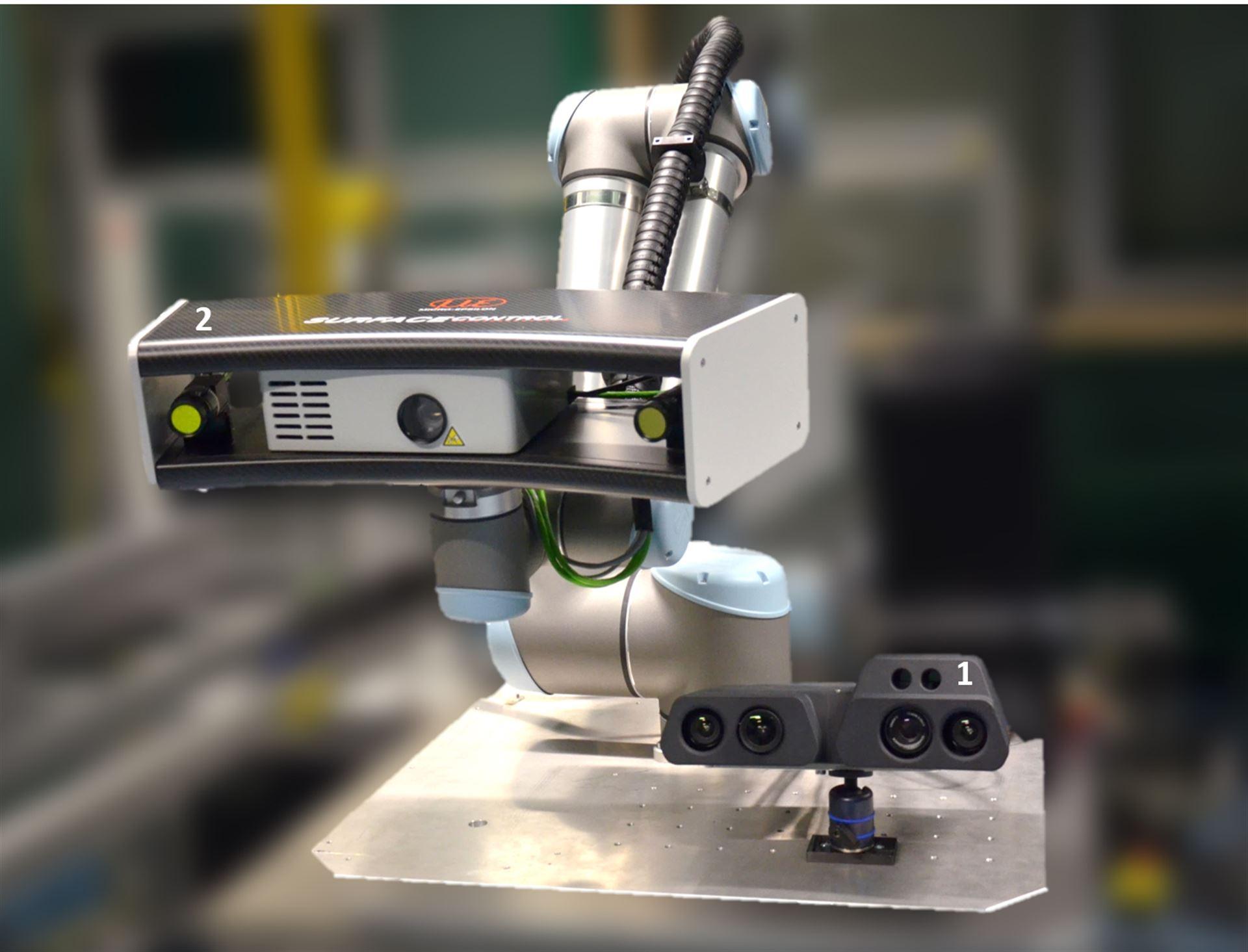 3D-Sensorik für große Werkstücke