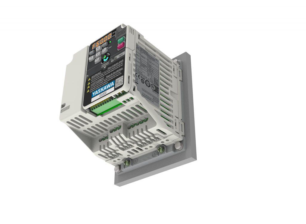 Die GA500-Umrichter gibt es auch ohne Kühlkörper
