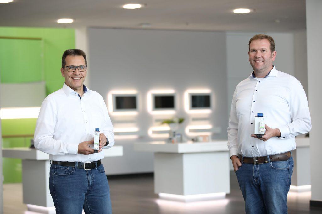 Von links: Klaus Böhmer und Dennis Dusny sind Geschäftsführer der neu gegründeten WAGO Electronics GmbH.